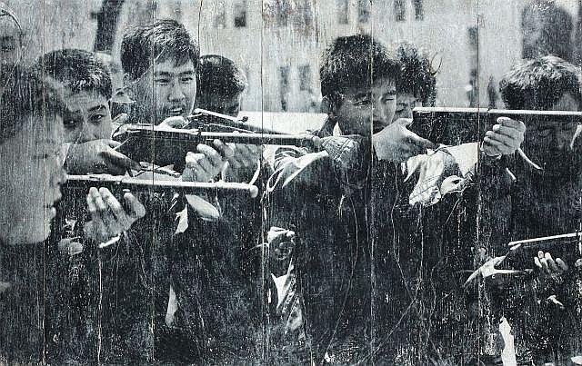 JR-North Korea, Pyongyang, Guns Games-2012