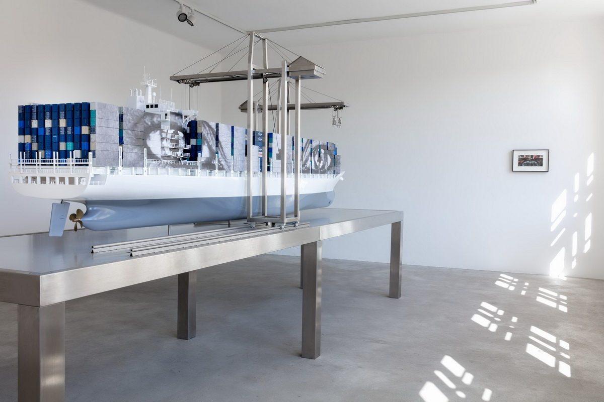 JR Ray Johnson Adran Piper - Installation view