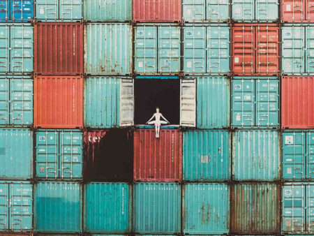 JR-The Ballerina in Containers-2014