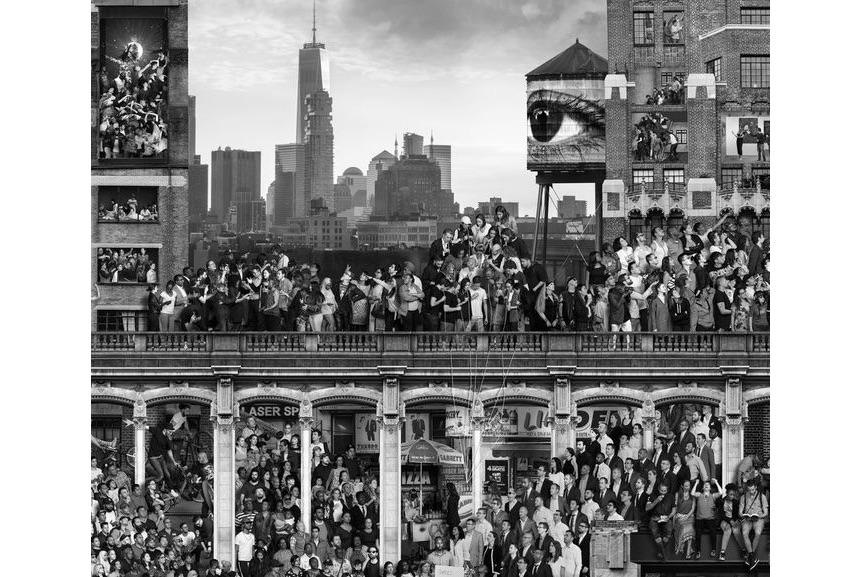 JR - The Chronicles of New York City, 2018–19 (detail). © JR-ART.NET