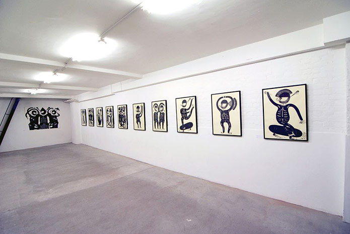 Jack Pearce, Bromance exhibition at Atomica Gallery, London, 2014