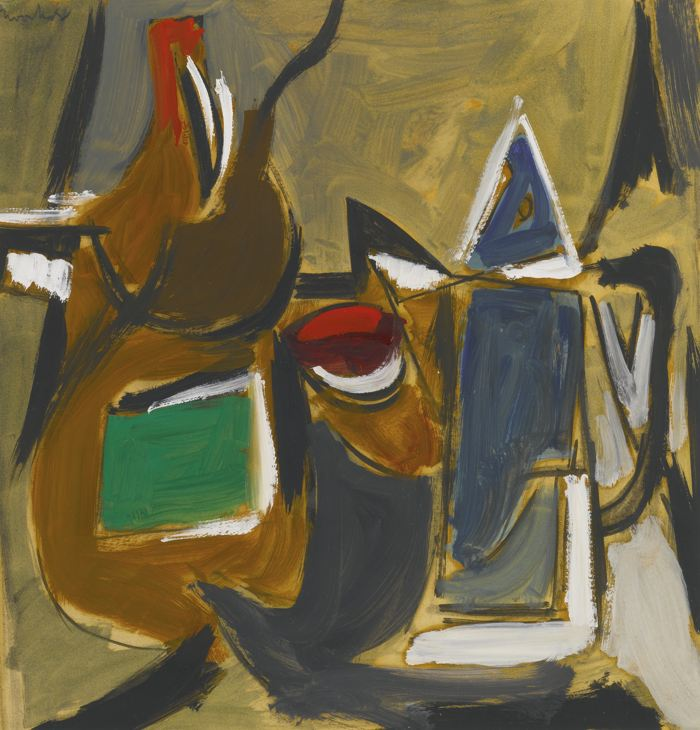 Jack Tworkov-Study For Still Life-1946