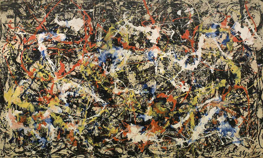 Jackson Pollock - Convergence, 1952