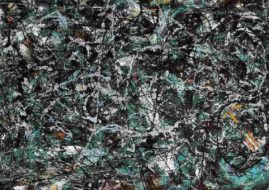 The elements of painted abstract paintings date back to previous century Cubism paintings and picasso paintings