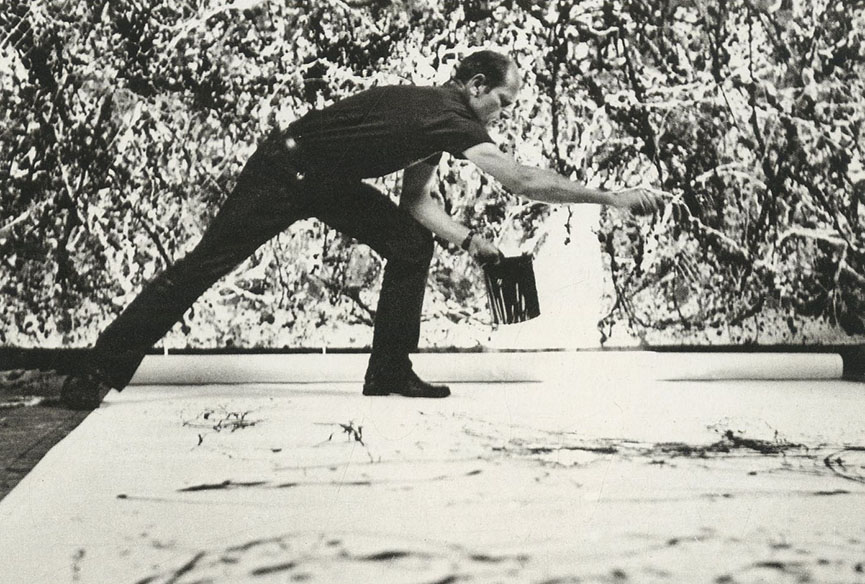 The Pollock Krasner Center in East Hampton, Long Island is also dedicated to his wife Lee
