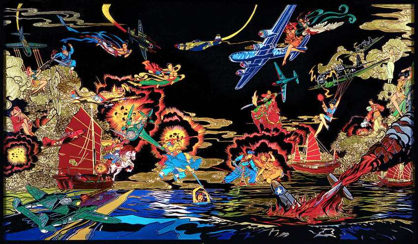 Jacky Tsai - Culture Clash, 2015 - tang play dragon