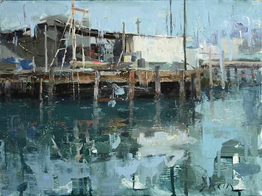 Jacob Dhein - San Francisco Piers, 2015