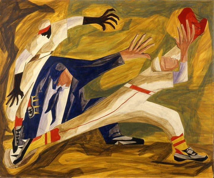 Jacob Lawrence - The Long Stretch, 1949