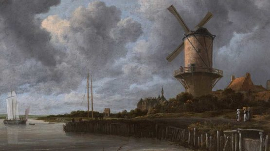 Jacob Van Ruisdael - The Windmill at Wijk bij Duurstede, 1670