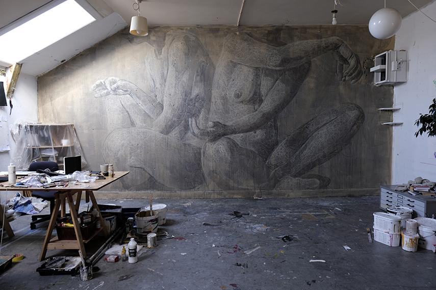 Jacoba Niepoort Wall for Home MuralFest 2020