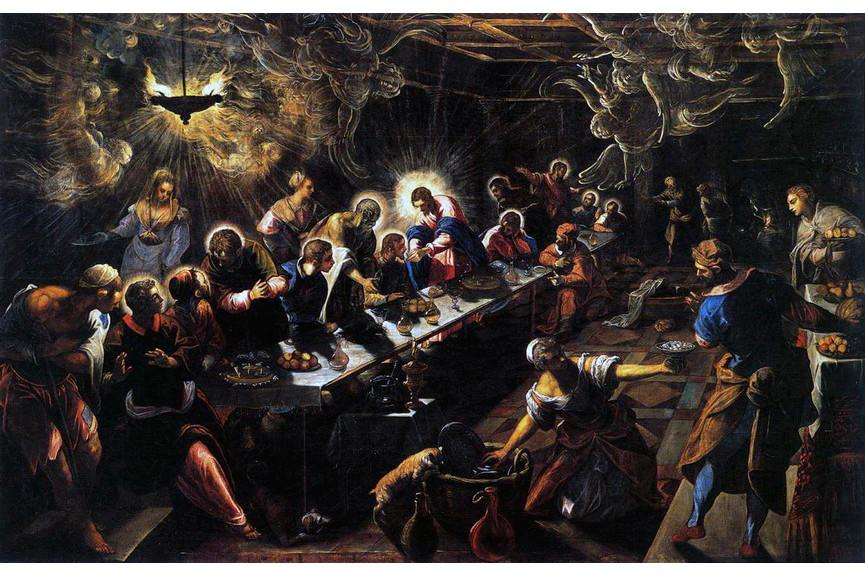 Mannerism - Jacopo Tintoretto - Last Supper