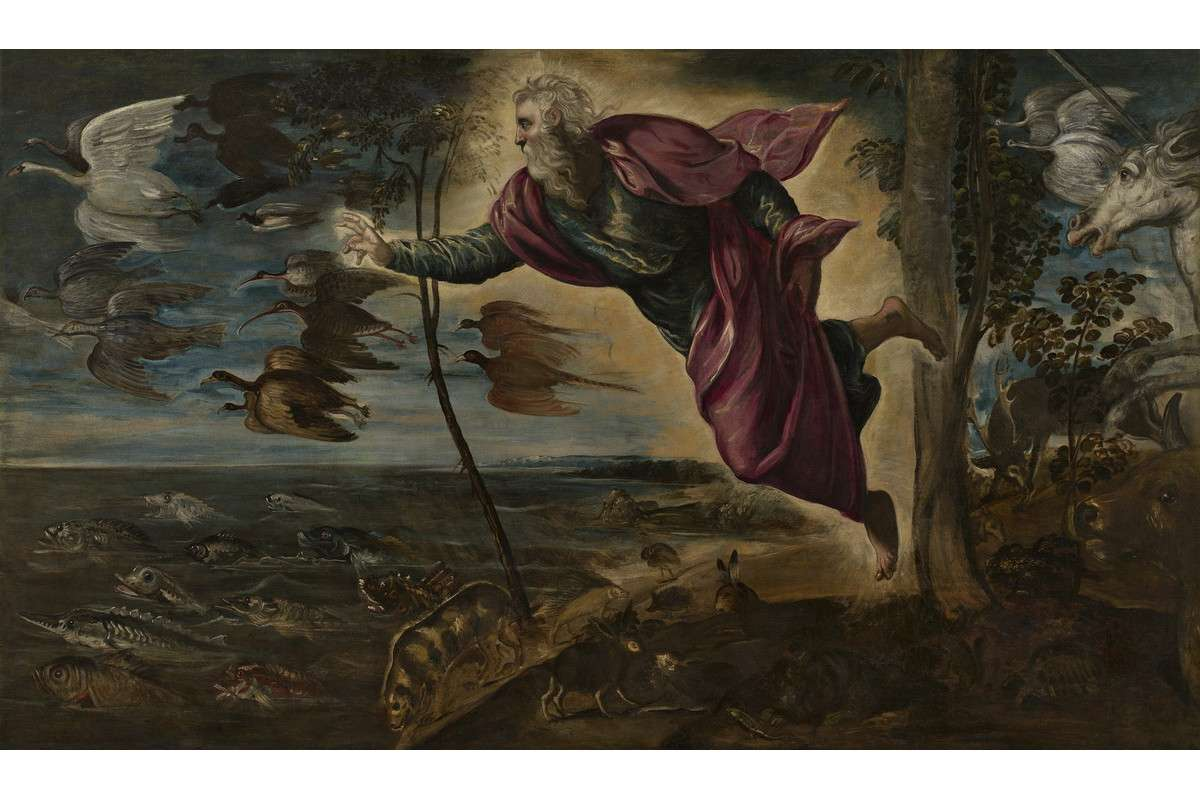 Jacopo Tintoretto - The Creation of the Animals