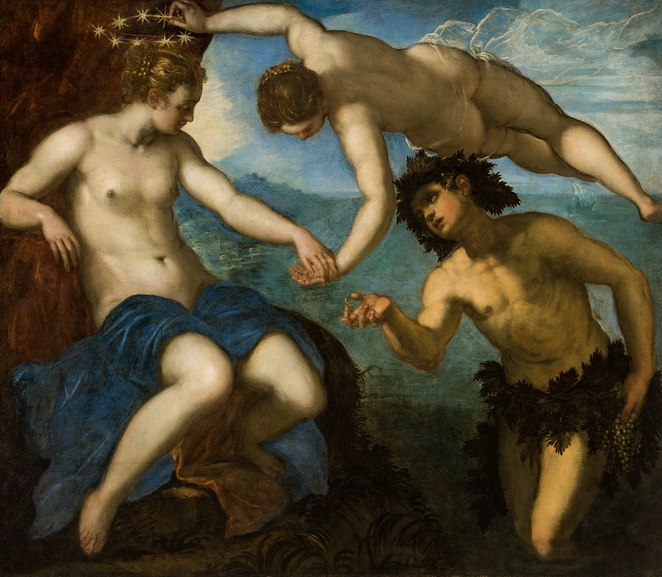 Jacopo Tintoretto - The Wedding of Ariadne and Bacchus
