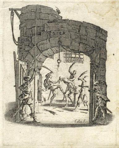 Jacques Callot-La Petite Passion-1624