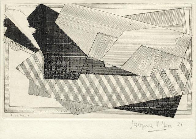 Jacques Villon-Le Cheval-1947