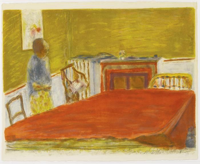 Pierre Bonnard-Jacques Villon after Album Pierre Bonnard: Two Prints-1946