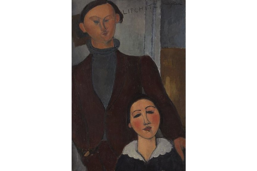 Amedeo Modigliani - Jacques and Berthe Lipchitz, 1916