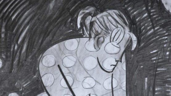 Jain Wallis - Spotted Nude (detail)