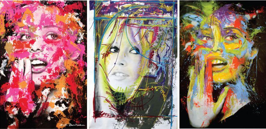 La Vie en Rose - 2012 / Look Over There - 2011 / No Title - 2011