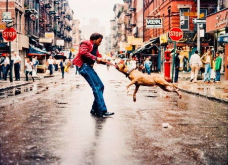 Jamel Shabazz-Man And Dog-2009