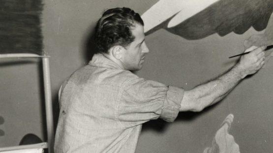 James Brooks portrait