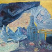 James Ensor - Harmonie En Bleu, 1919 (Detail)