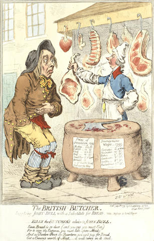 James Gillray-A Collection of Caricatures-
