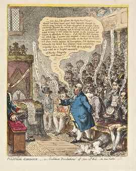 James Gillray-Political-Candour;-i.e.-Coalition-Resolutions of June 14th 1805.-1805