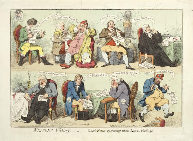 James Gillray-The Zenith of French Glory-1793