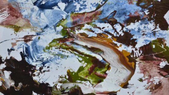 James Hawkins - Below Beinn Dearg (detail)