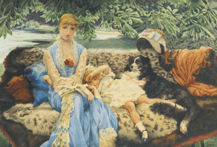 James Jacques Joseph Tissot-Quiet-
