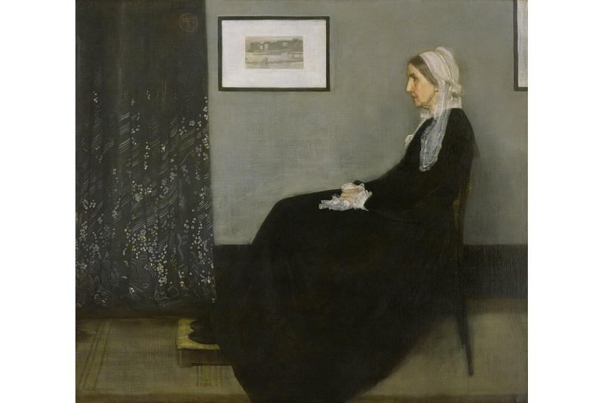 James McNeill Whistler - Arrangement in Grey and Black No 1