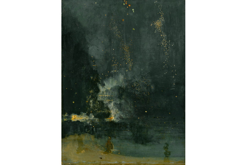James McNeill Whistler - Nocturne in Black and Gold The Falling Rocket