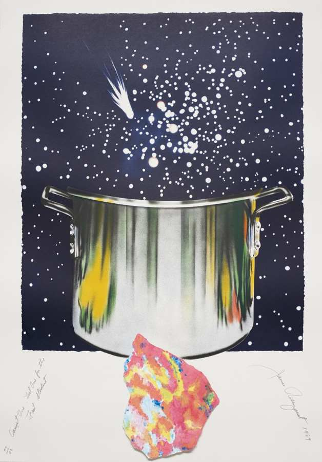 James Rosenquist-Caught One Lost One for the Fast Student or Star Catcher, from Welcome to the Water Planet-1989