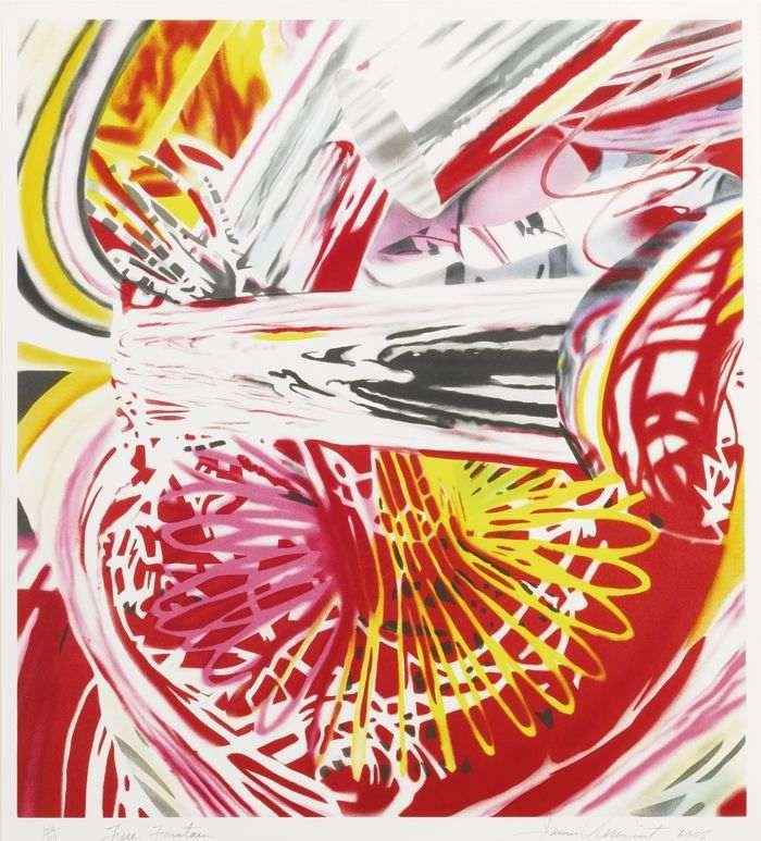 James Rosenquist-Fire Fountain-2005