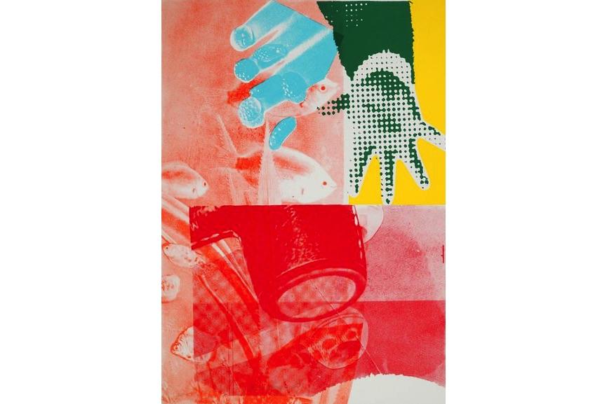 James Rosenquist - For Love, 1965