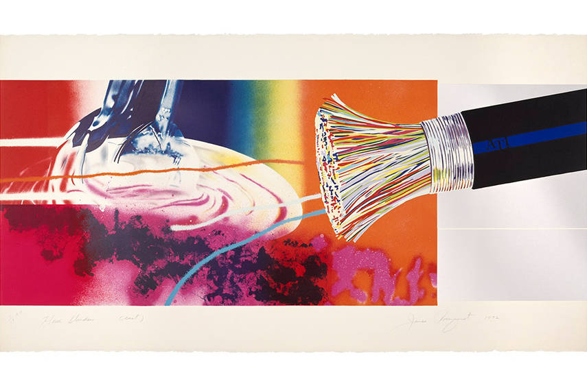 James Rosenquist - Horse Blinders (east), 1972_2