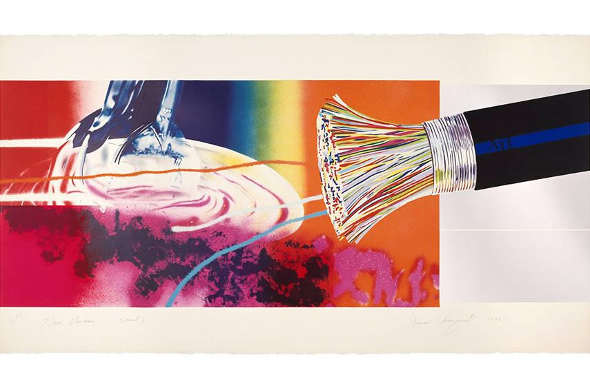 James Rosenquist - Horse Blinders (east), 1972_2