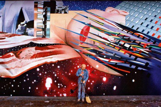 James Rosenquist - Star Thief, 1980