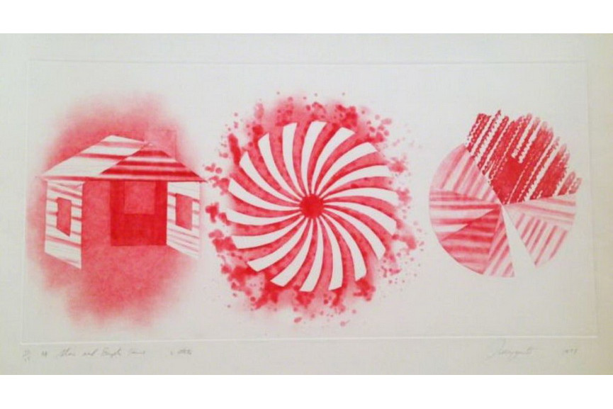 James Rosenquist - Star and Empty House