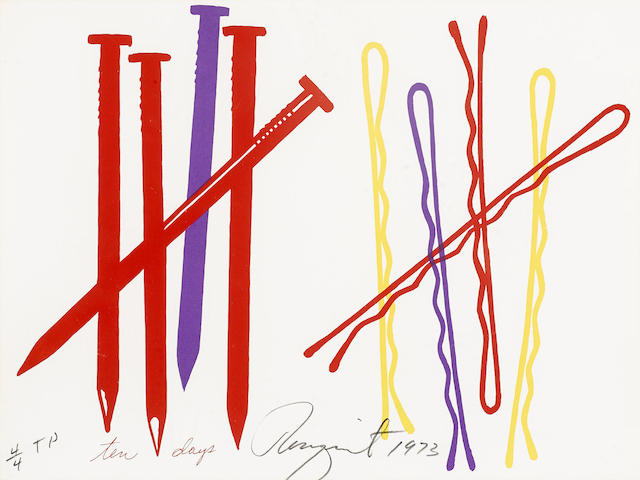 James Rosenquist-Ten Days, from The New York Collection for Stockholm-1973