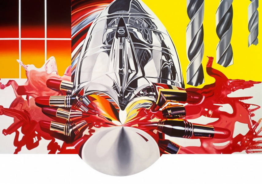 James Rosenquist - The Swimmer in the Econo-mist 3, 1997-98