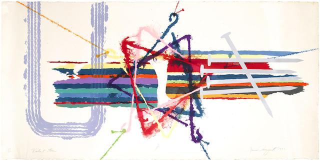 James Rosenquist-Violent Turn-1977
