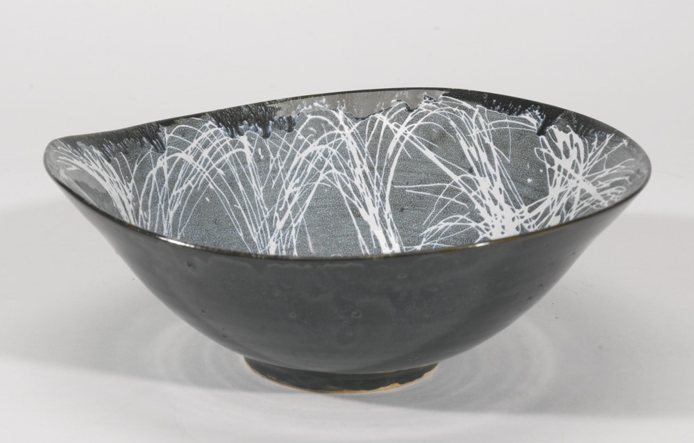 James Tower-Black And White Bowl-1959