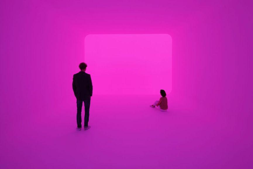 James Turrell, Ganzfeld APANI (Venice Biennial 2011), 2011