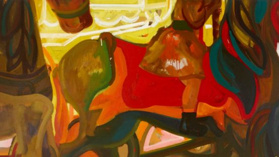 James Weeks - Child On Merry Go Round, circa 1953-56, Detail - Photo Credits Winfield Gallery