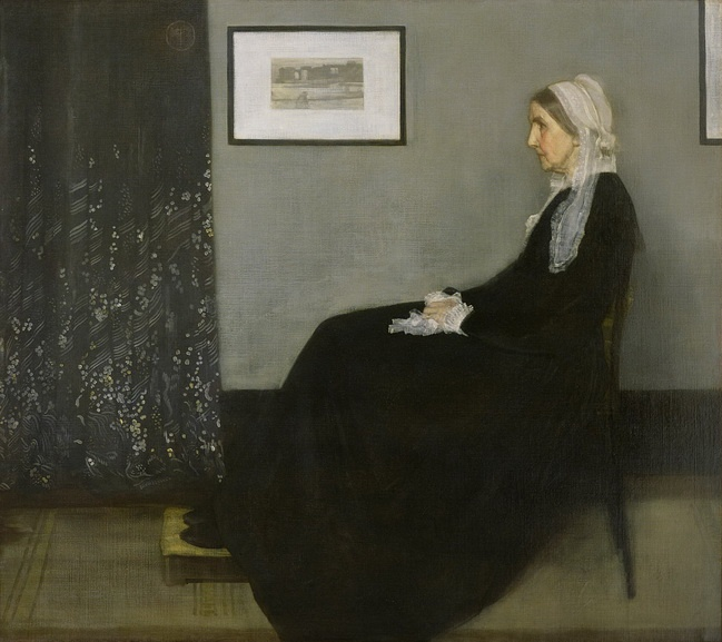 James Whistler - Arrangement in Grey and Black No.1