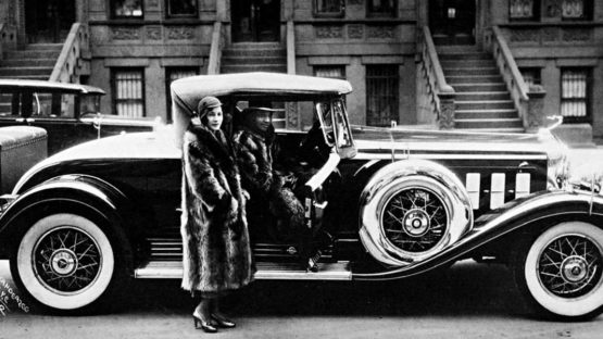 James van der Zee - Couple with a Cadillac (detail), 1932