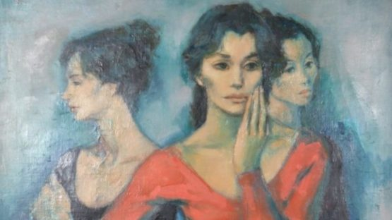Jan De Ruth - Three Dancers, ca 1965 (detail)