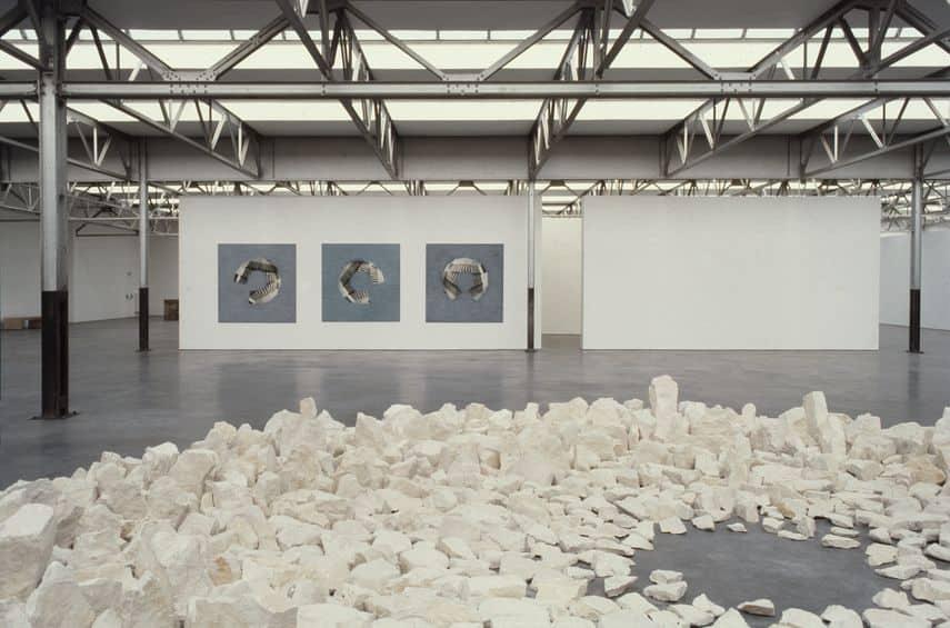 Jan Dibbets - San Casciano Ceiling, 1983-84